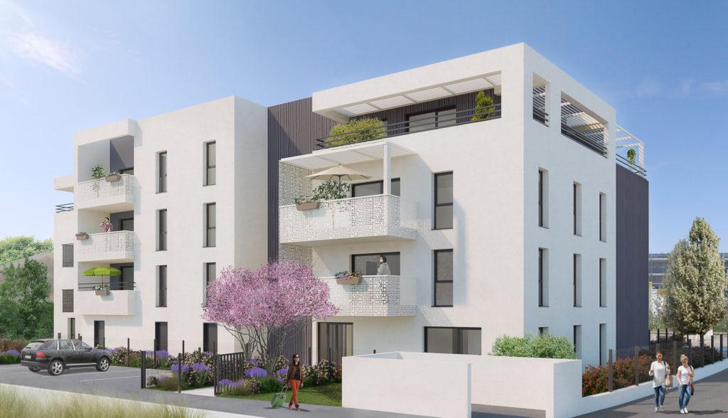clos st bernard - façade 1